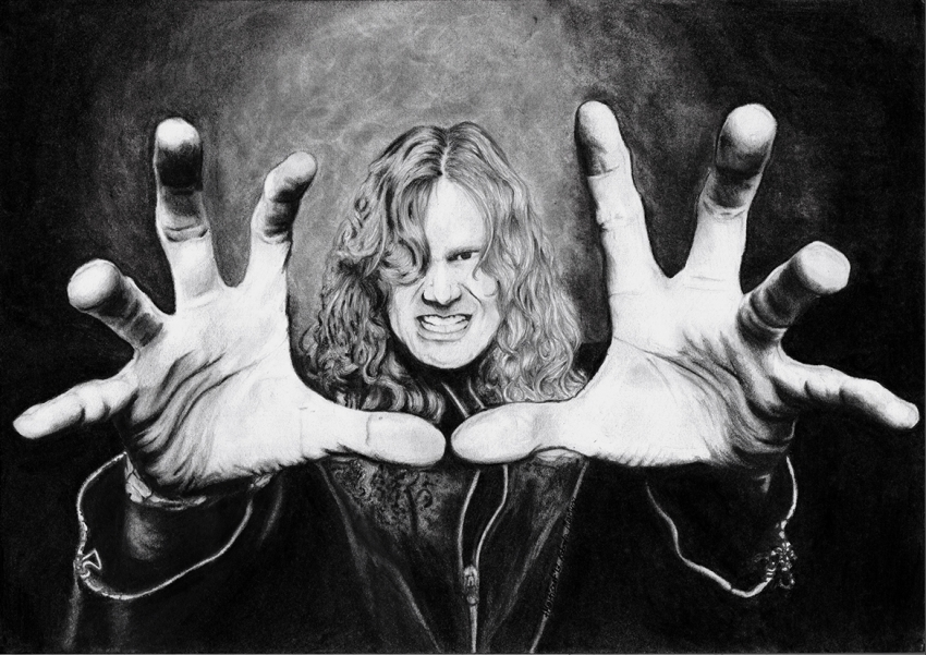 Dave Mustaine by Mortisha